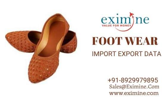 Foot wear usa import export data